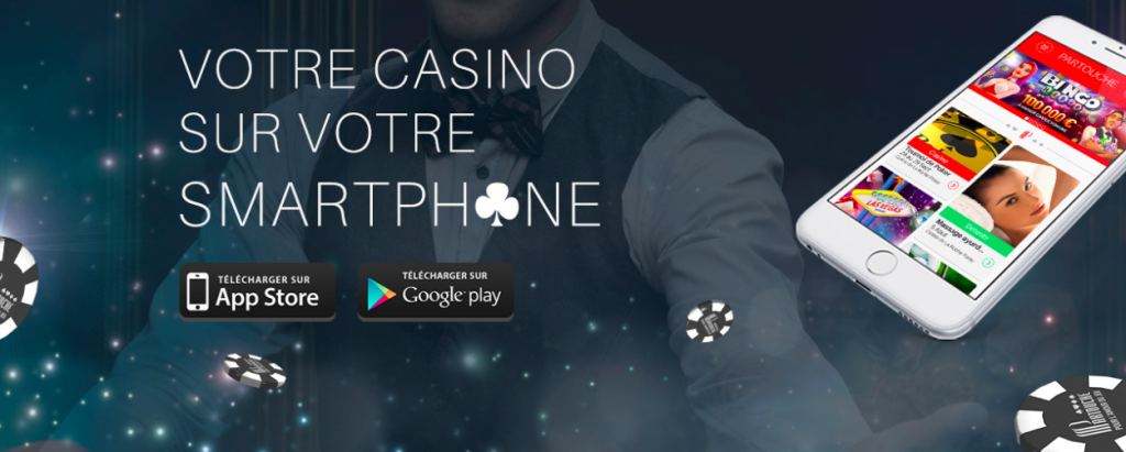 Partouche casino application